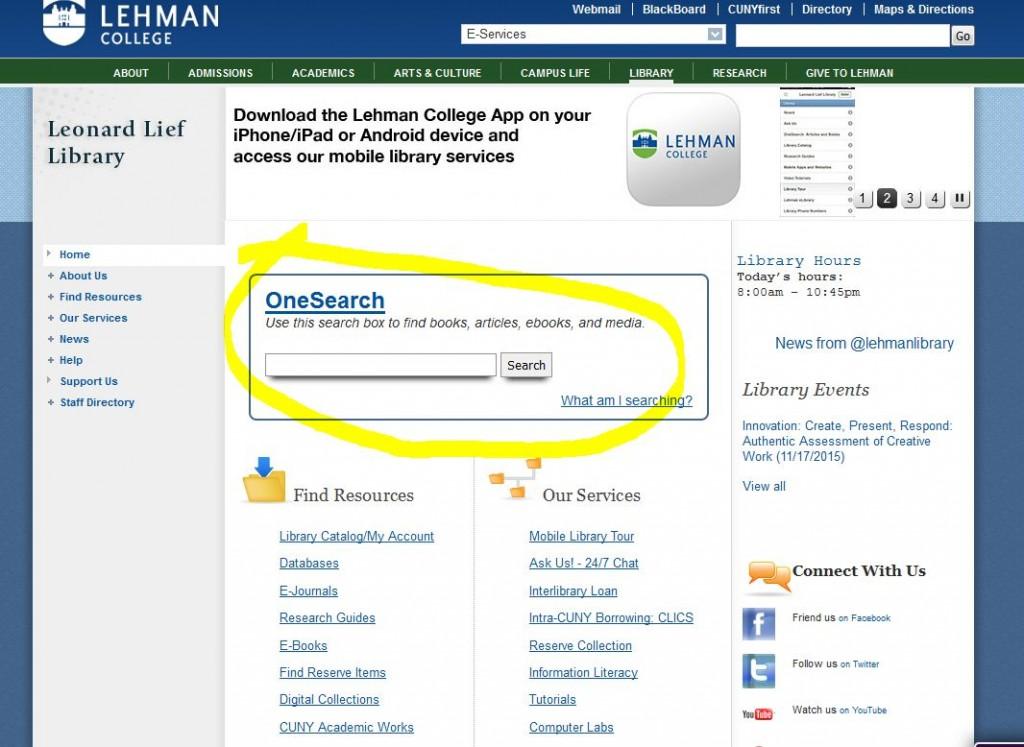 Lehman snap highlighted